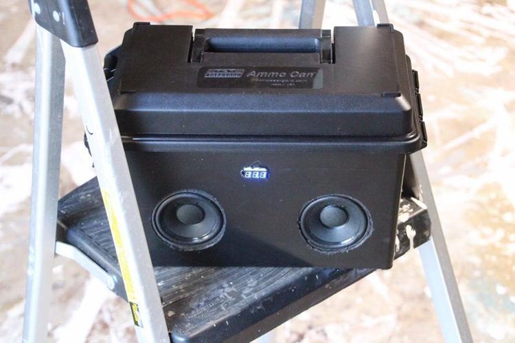 21. DIY Bluetooth Speaker 2.0