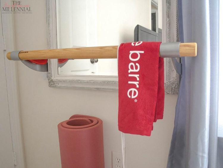 22. DIY Ballet Barre