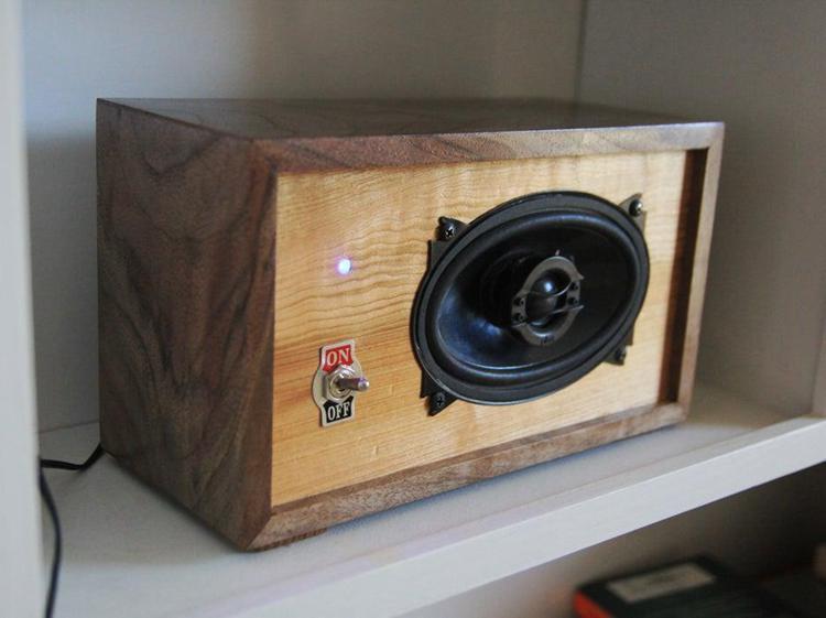 22. DIY Bluetooth Bookshelf Speaker
