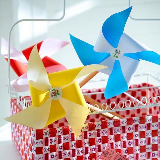 22. DIY Paper Windmill