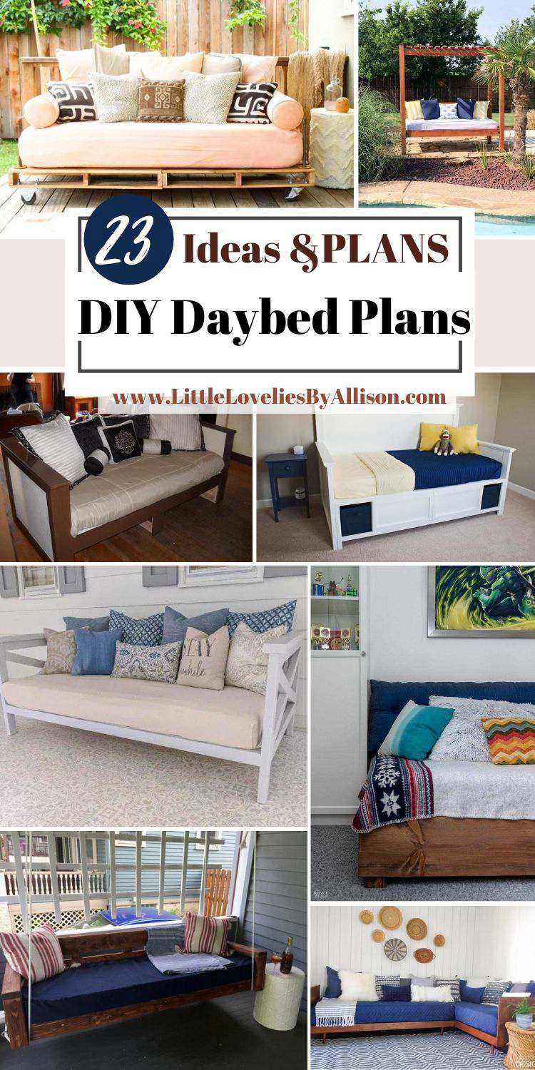 23 DIY Daybed Plans_ How To Build A Daybed In A Jiffy