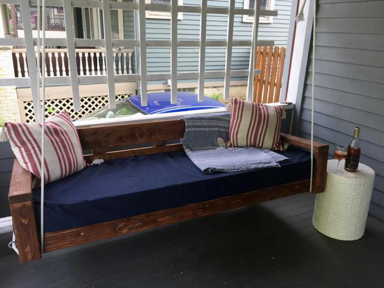 23. DIY Hanging Daybed