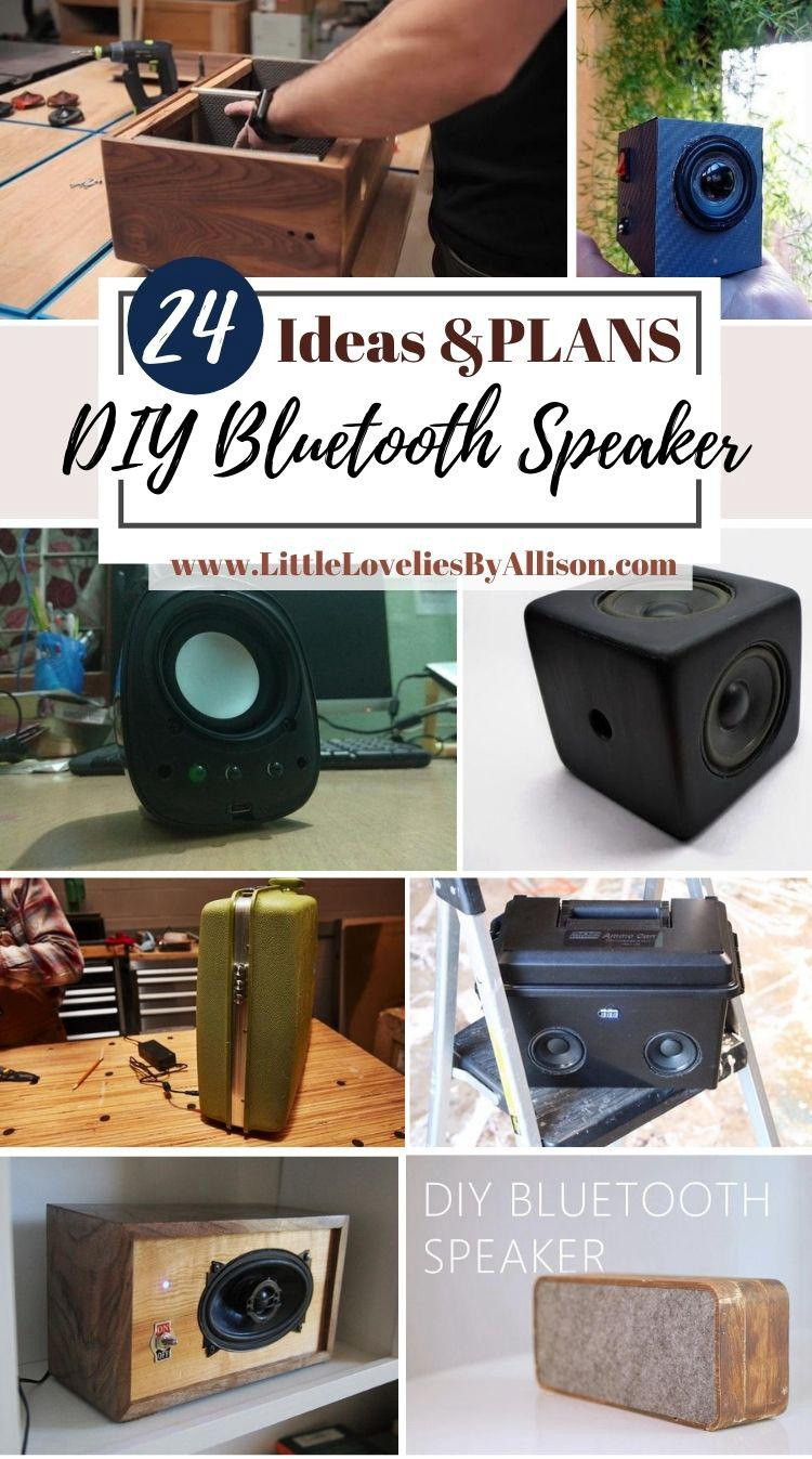 24 DIY Bluetooth Speaker Projects That You Can Build From Home