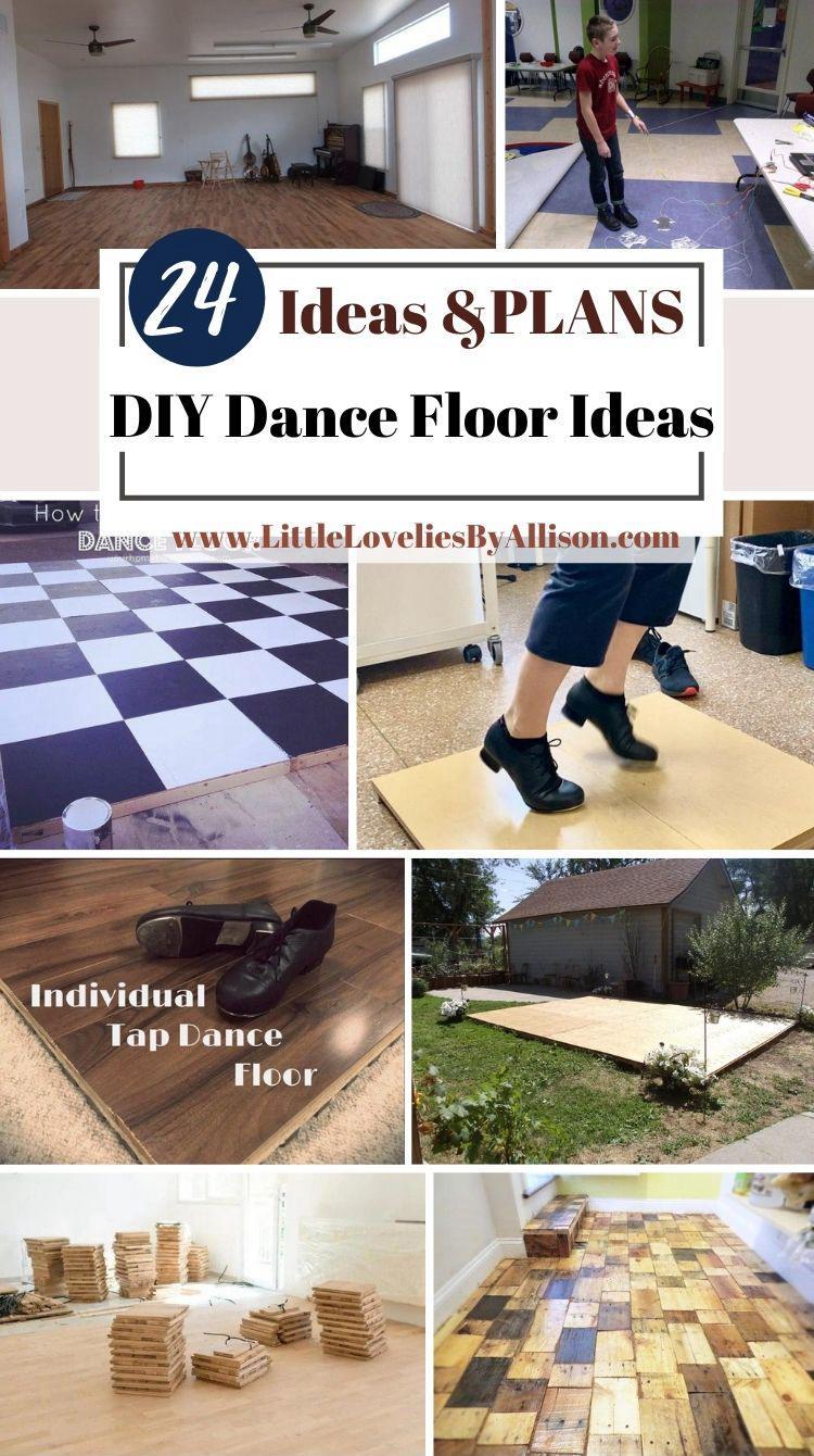 24 DIY Dance Floor Ideas For Weddings, Events _ More