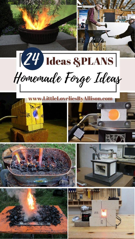 24 Homemade Forge Ideas_ How To Make A Foundry Like A Boss