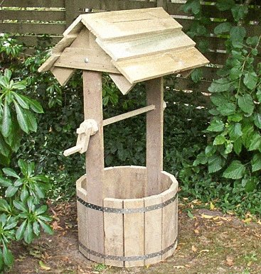 24. How To Build A Wooden Wishing Well