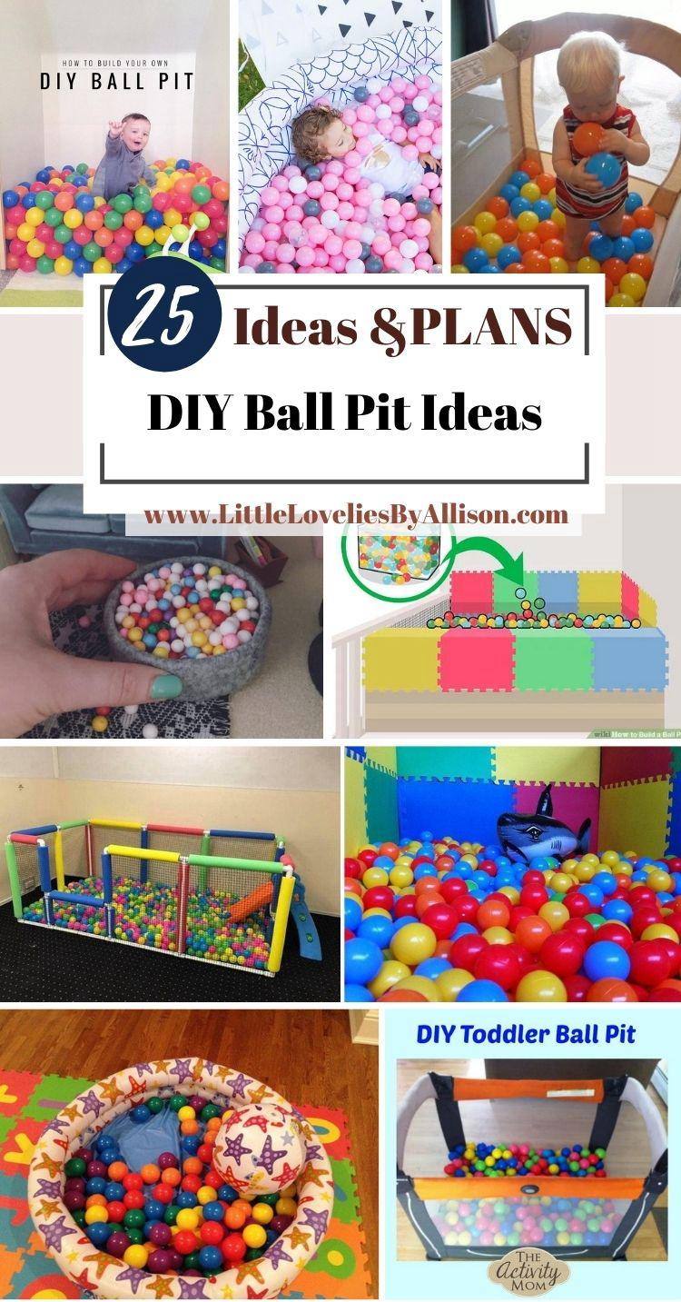 25 DIY Ball Pit Ideas_ Easy For All To DIY