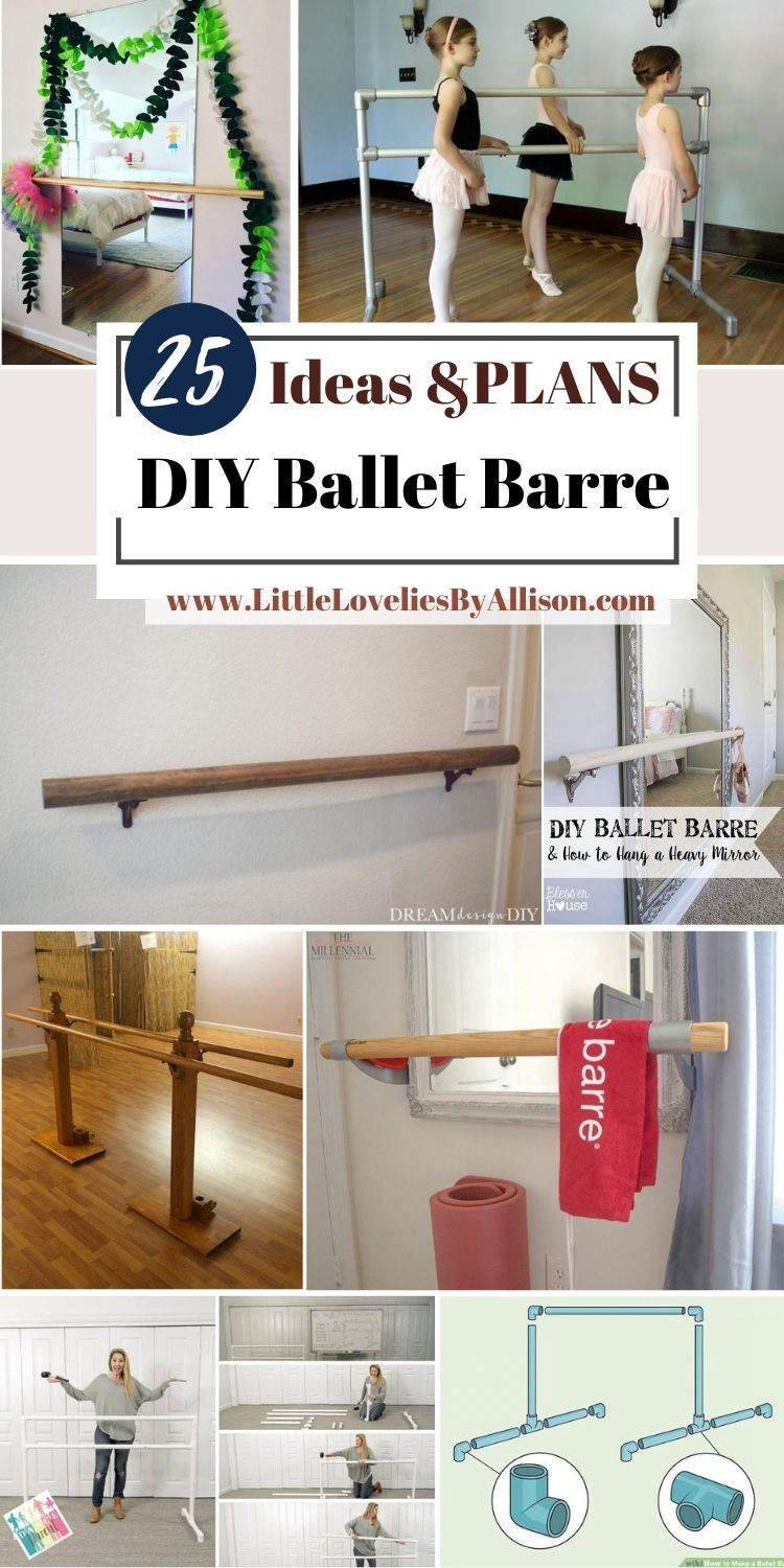 25 DIY Ballet Barre Ideas That You Can DIY With Ease
