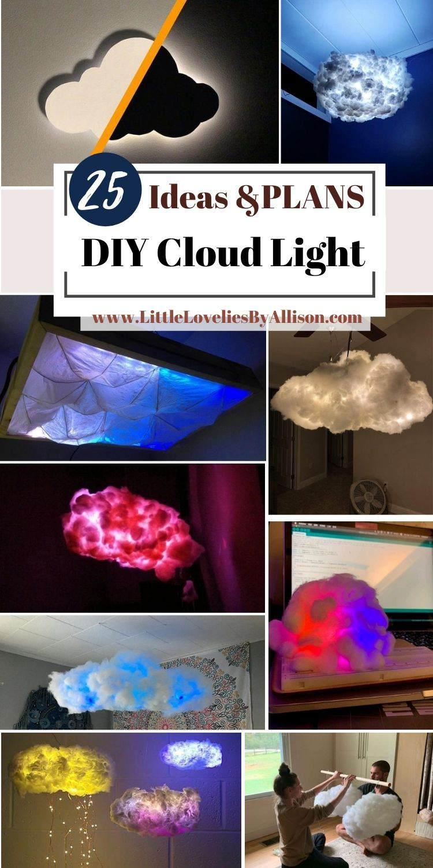 25 DIY Cloud Light Projects_ Most Beautiful Cloud Light Ideas