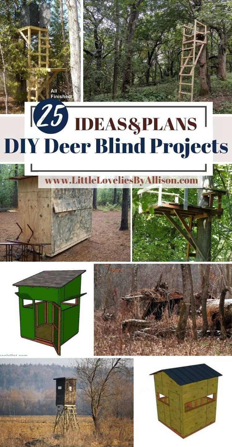 25 DIY Deer Blind Projects_ Homemade Deer Hunting Blind Ideas