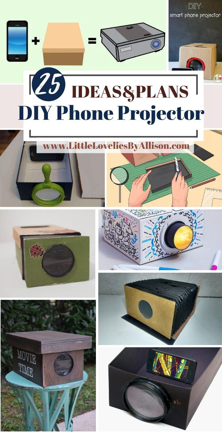 25 DIY Phone Projector Plans_ How To Build A Smartphone Projector