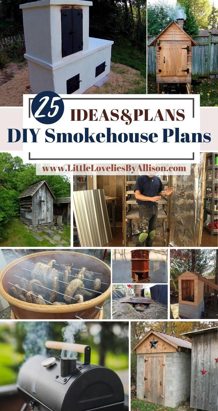 25 DIY Smokehouse Plans_ How To Build A Smokehouse