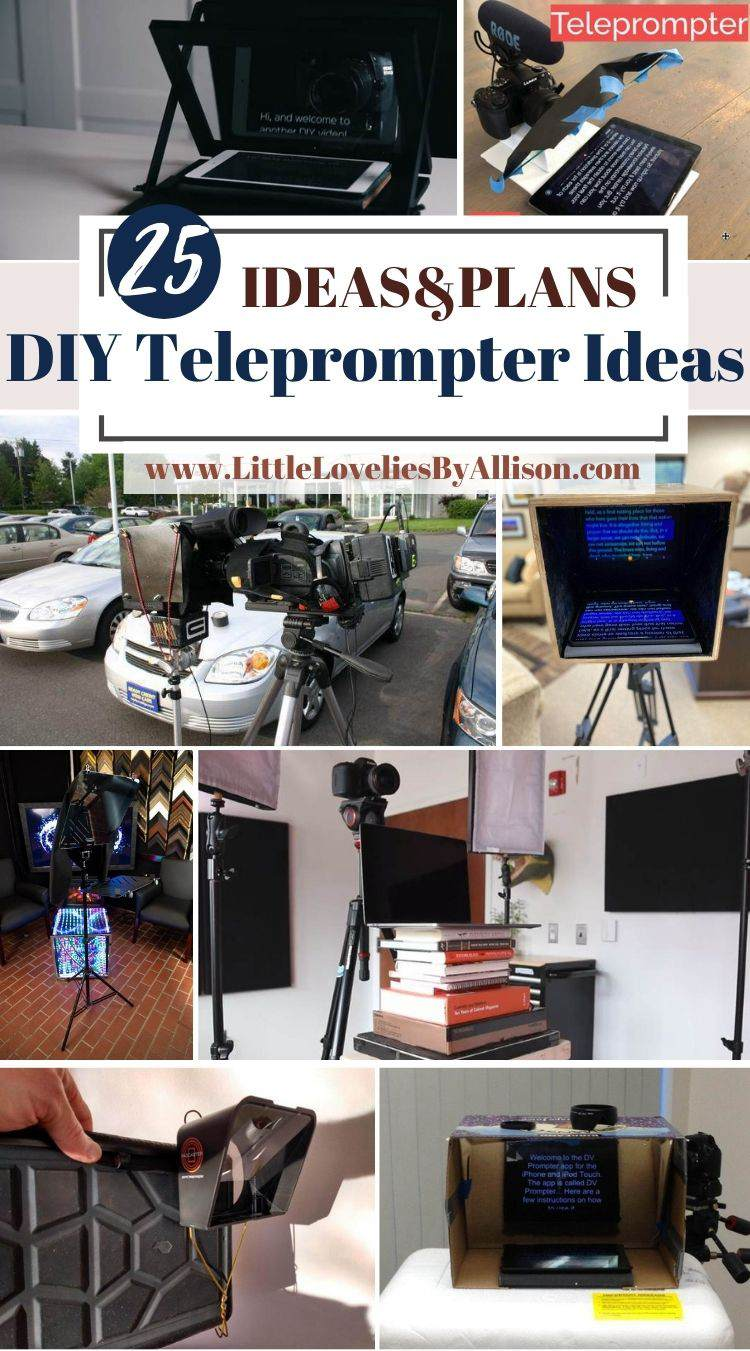 25 DIY Teleprompter Ideas_ How To Make A Teleprompter From Home