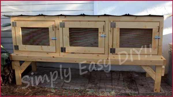 25. How To Build A Simple Rabbit Hutch