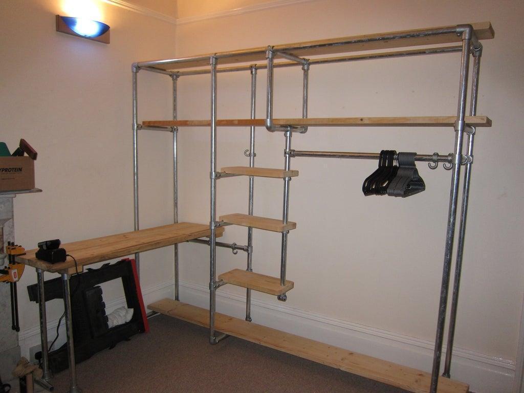 3. DIY Scaffold Storage System