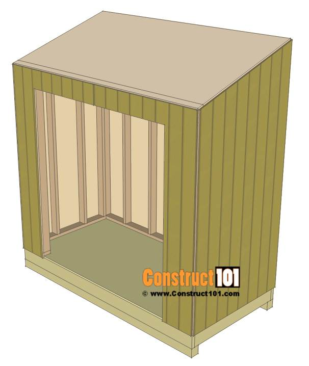 3. Lead To Shed Plans DIY