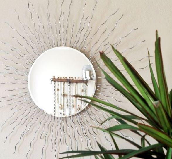 32. DIY Sunburst Mirror
