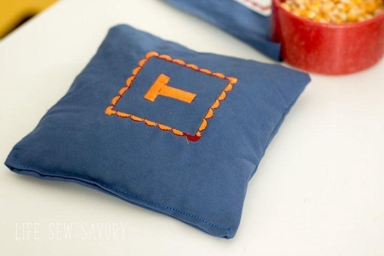 4. Corn Hole Bags DIY