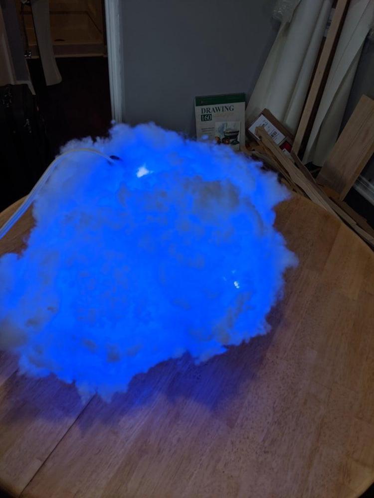 4. LED Smart Cloud Light DIY