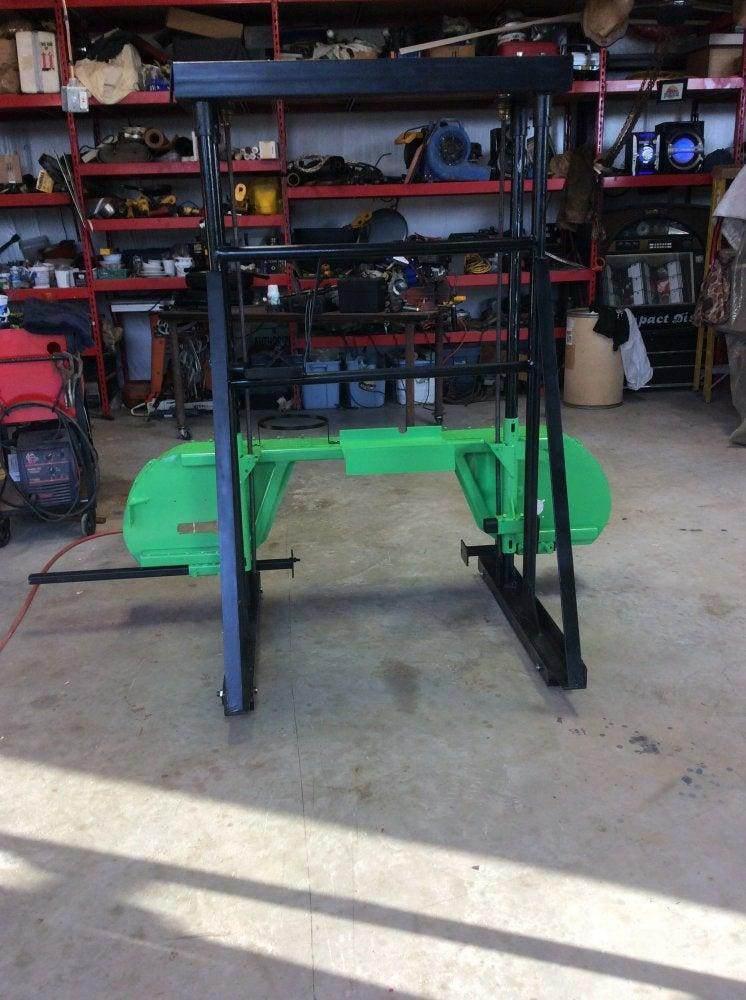 5. DIY Band Sawmill And Railbed