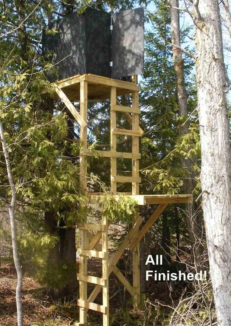 5. DIY Deer Hunting Stand