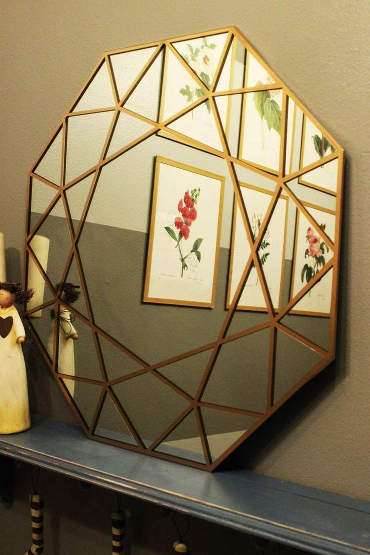 5. DIY Gem Mirror