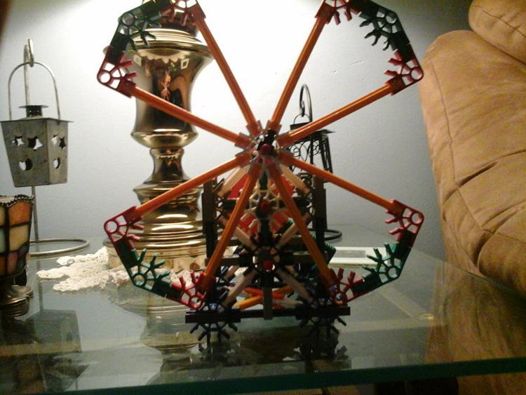 5. DIY Knex Windmill