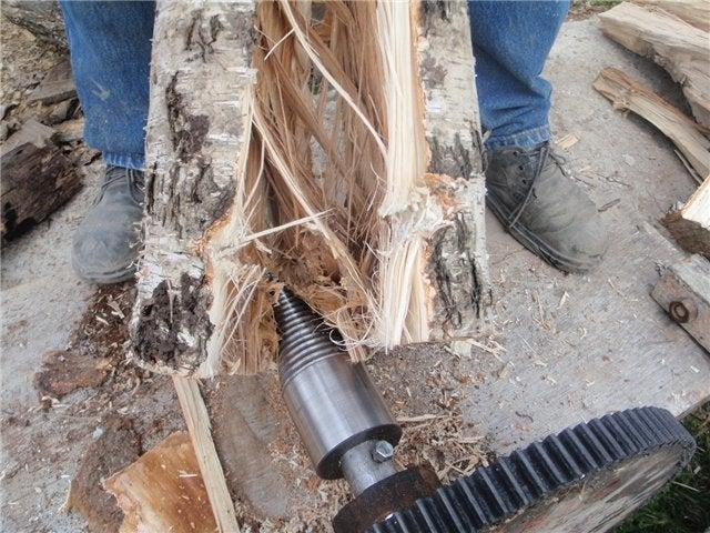 5. DIY Unicorn Log Splitter