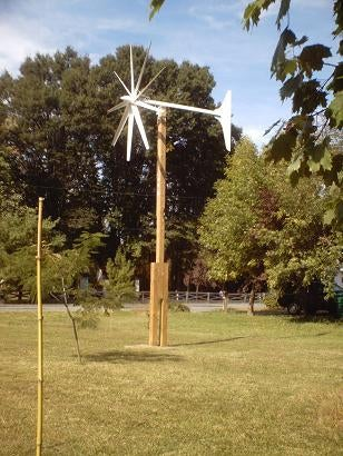 5. DIY Wind Turbine