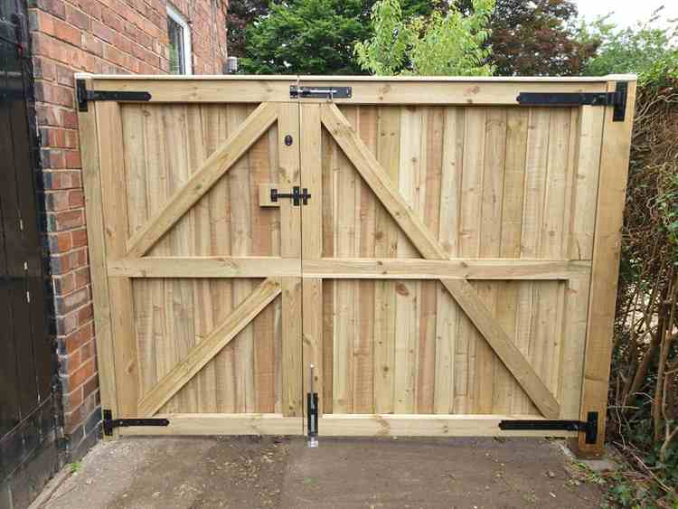 6. How To Build A Driveway Gate