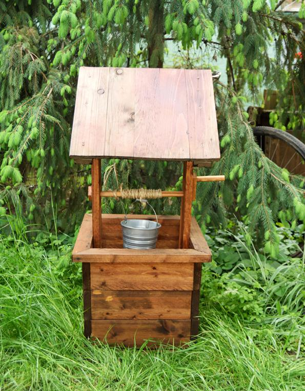 6. How To Build A Wishing Well Planter