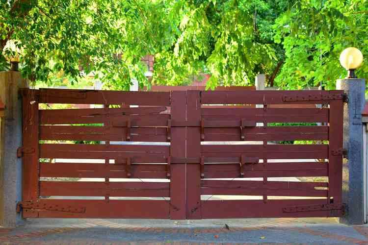 7. DIY Driveway Gate Build