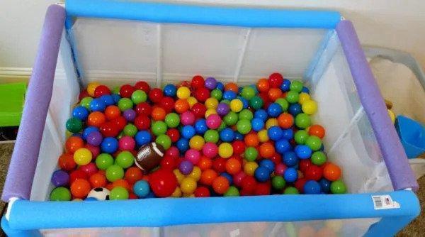 7. DIY PVC Pipe Ball Pit
