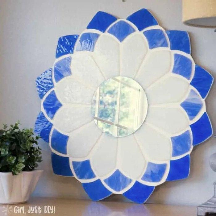 7. Easy Tiffany Mirror DIY