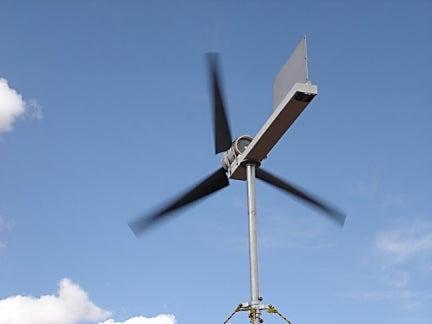 7. Electricity Producing Wind Turbine DIY