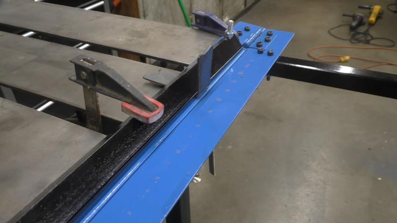 8. Building A Sheet Metal Brake With No Welding Required