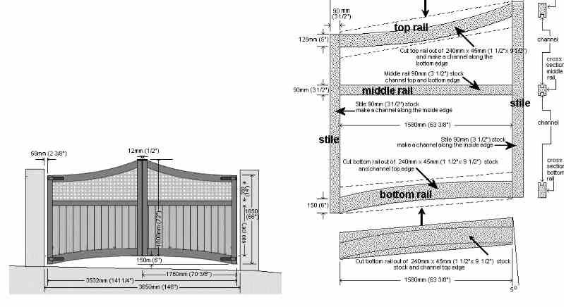 8. DIY Driveway Gate Build