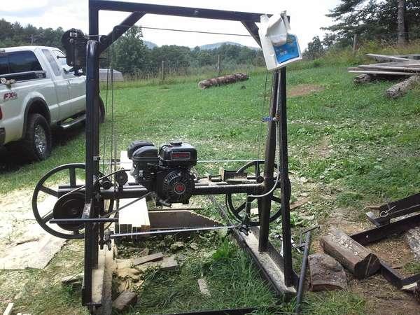 8. Homemade Sawmill Build