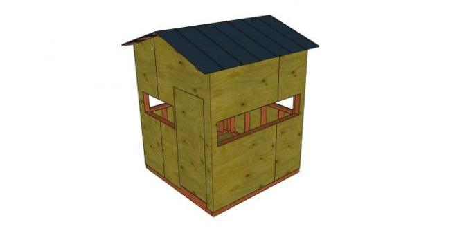 8. How To Build A Deer Blind