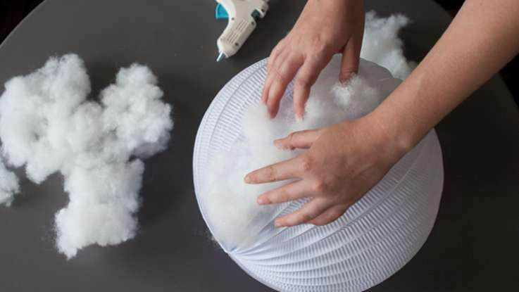 9. Homemade DIY Cloud Light