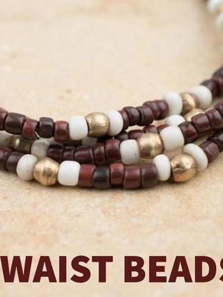 DIY African Waist Beads Ideas