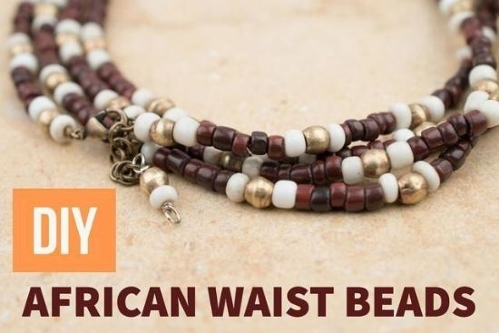 DIY African Waist Beads