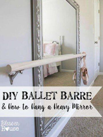 DIY Ballet Barre Ideas