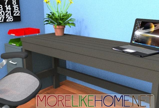 DIY Casual Desk