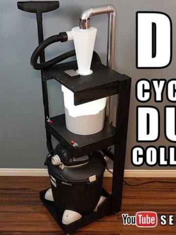 DIY Cyclone Dust Collector Ideas