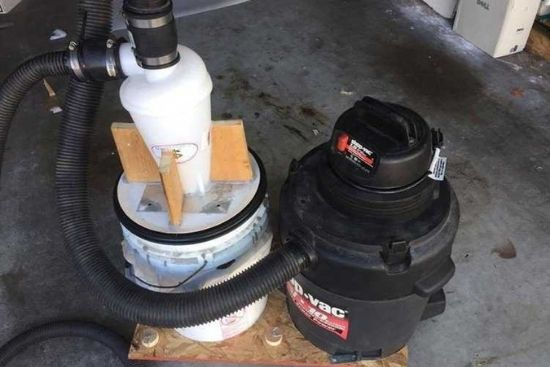 DIY Cyclone Dust Collector
