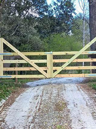 DIY Driveway Gate Ideas