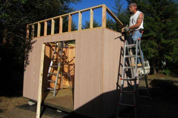 DIY Lean To Shed Plans