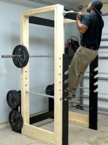 DIY Power Rack Projects