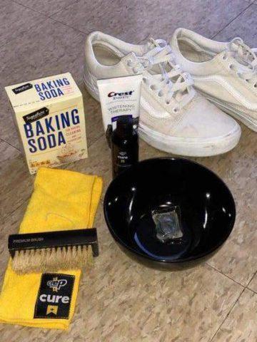 DIY Shoe Cleaner Ideas